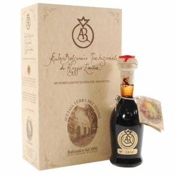 Balsamic Vinegar Of Reggio Emilia Gold Seal - Over 75 Years Old - 1 x 3.5 fl oz