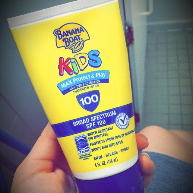 Banana Boat Kids Max Protect And Play Lotion Sunscreen With SPF 100