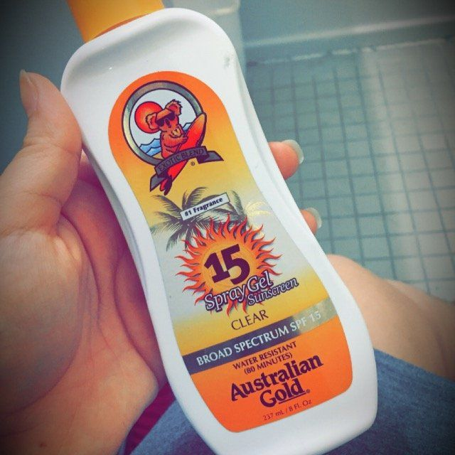 Australian Gold Spray Gel Sunscreen SPF 30, Clear 8 oz