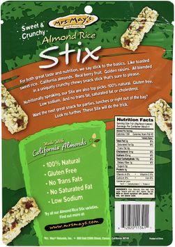 mrs May's Naturals® Almond Rice Stix Roasted Seaweed (Nori)