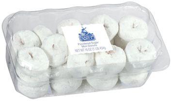 Dutch Mill Powdered Sugar Mini Donuts