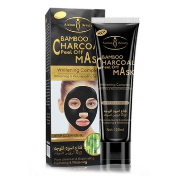 Botrong Black Mud Deep Cleansing Purifying Peel Off Facail Face Mask Remove Blackhead - 120ML