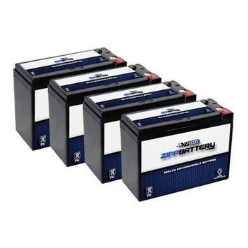 12V 10AH SLA Battery for Electric Scooter Schwinn S180 / Mongoose - 4PK
