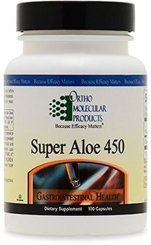 Ortho Molecular Products - Super Aloe 450 - 100 Capsules