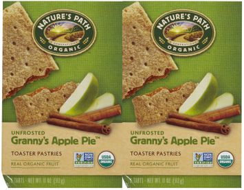 Nature's Path Natures Path Un-Frosted Toaster Pastry, Apple Cinnamon, 11 oz, 6 ct, 2 pk