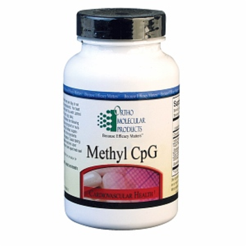 Ortho Molecular Products Methyl CPG, 60 ea