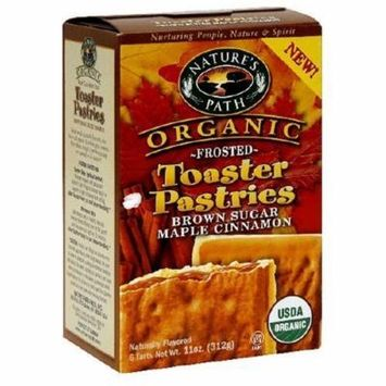 Natures Path 34536 Frosted Brown Sugar Maple Toaster Pastry by NatureS Path