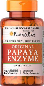 Puritan's Pride Papaya Enzyme-250-Chewables