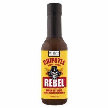 Aubrey D. Rebel Chipotle Hot Sauce, 150ml