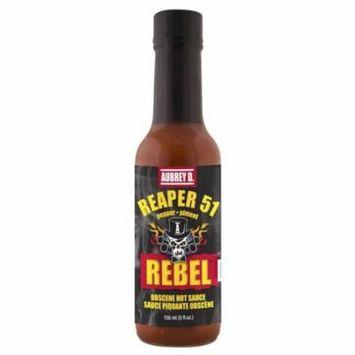 Aubrey D. Hot, Spicy, Tongue-tingling Reaper 51 Hot Sauce