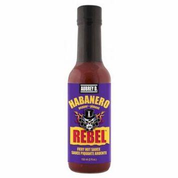 Aubrey D, Rebel Habanero Hot Sauce, 150 ml