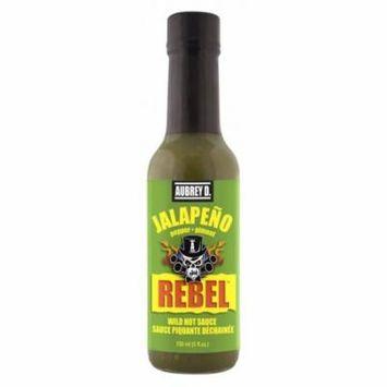 Aubrey D. Rebel Jalapeno Hot Sauce, 150ml