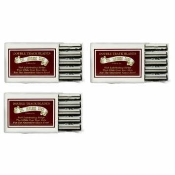 Colonel Ichabod Conk Trac II Razor Blades 10 ct. (Pack of 3)
