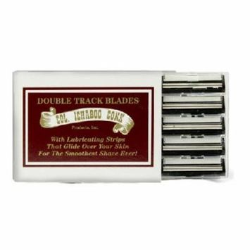 Colonel Ichabod Conk Trac II Razor Blades 10 ct. + Schick Slim Twin ST for Sensitive Skin