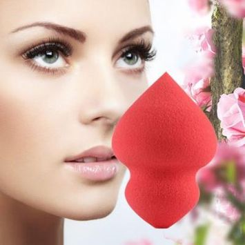 OUTAD 1pc/2pcs/3pcs Gyro Shaped Makeup Sponge Blender Puff Flawless Powder Beauty Smooth Drop Shipping Wholesale