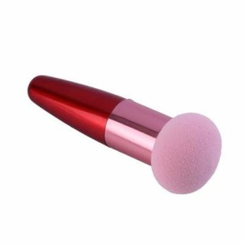 Beauty Professional Cosmetic Makeup Sponge Puff Stick Flawless Smooth Round Shaped Powder Puff Makeup Tool