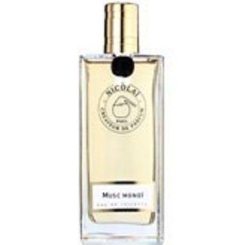 Musc Monoi by Parfums De Nicolai Eau De Toilette 3.3 oz Spray