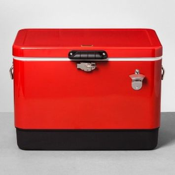 Centennial Oak Painted Cooler 54qt - Red - Hearth & Hand™ with Magnolia