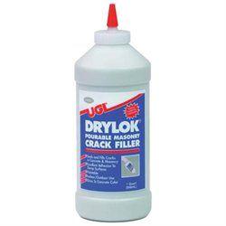 United Gilsonite 1 Quart Gray Drylok Pourable Masonry Crack Filler 30512