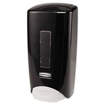 Rubbermaid Flex 3486592 Soap-Lotion-Sanitizer Dispenser 1300mL Black 10-Carton Bath Shower Bathroom