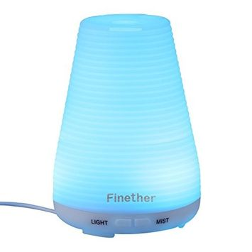 Finether 100ML Aroma Essential Oil Diffuser …