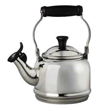 Williams Sonoma Le Creuset Classic Demi Teakettle, Stainless Steel | Williams-Sonoma
