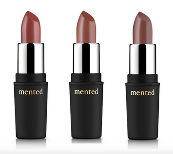 MENTED COSMETICS Fall Semi-Matte Lip Shade Collection
