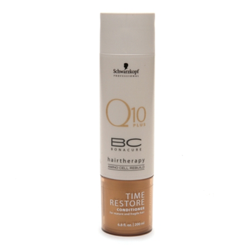 Schwarzkopf Professional Bonacure Q10 Plus Time Restore Conditioner for Mature and Fragile Hair
