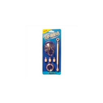 Clinere PDC#100-3 Ear-Brush Ear Cleaning Shower Brush Set