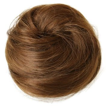 PRETTYSHOP BUN Up Do Hair Piece Ponytail Extensions Draw String Scrunchie DC14