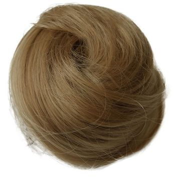 PRETTYSHOP BUN Up Do Hair Piece Ponytail Extensions Draw String Scrunchie DC15