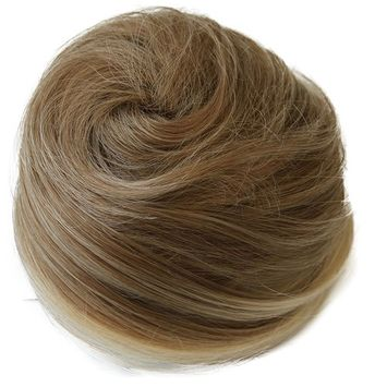 PRETTYSHOP BUN Up Do Hair Piece Ponytail Extensions Draw String Scrunchie DC17