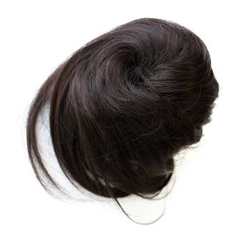 PRETTYSHOP Scrunchy Scrunchie Bun Up Do Hairpiece Hair Ribbon Ponytail Extensions Wavy Curly or Messy Color Variation