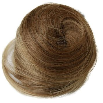PRETTYSHOP BUN Up Do Hair Piece Ponytail Extensions Draw String Scrunchie DC19