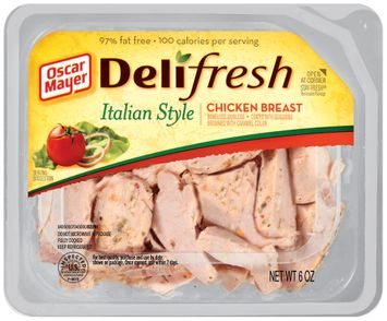 Oscar Mayer Deli Fresh Italian Style 97% Fat Free Chicken Breast