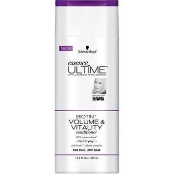 Schwarzkopf Essence Ultime Biotin Volume Conditioner