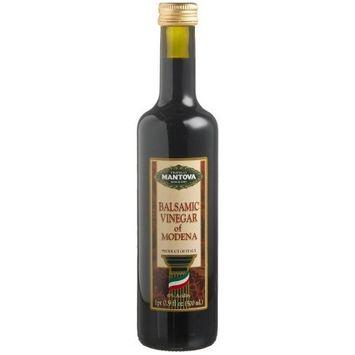 Mantova Balsamic Vinegar of Modena, 17 -Ounce Bottles (Pack of 4)