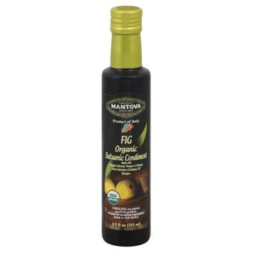 Mantova Vinegar Balsamic Fig 8.5 Fo -Pack of 6