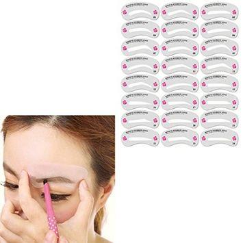 Alonea Eyebrow Shaping Stencils Grooming Kit Makeup Shaper Set Template Tool