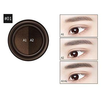 Alonea Air Cushion Eyebrow Dye Cream Eyebrow Waterproof Beauty Set