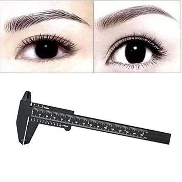 Alonea 1PC Microblading Reusable Makeup Measure Eyebrow Guide Ruler Permanent Tools