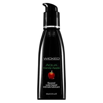 Wicked Sensual Care Water Based Lube, Candy Apple, 2 Ounce [Candy Apple]