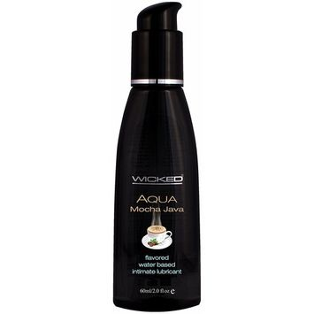 Wicked Sensual Care Water Based Lube, Mocha Java, 2 Ounce [Mocha Java]