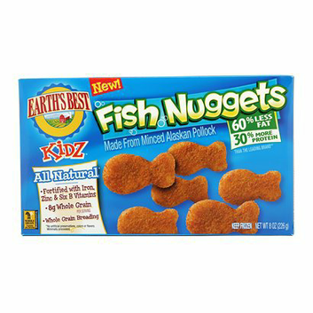 Earth's Best Fish Nuggets 8 oz