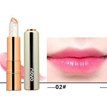 SEXYP Hot Sale Balm Colors Makeup Discoloration Lipstick Jelly Moisturizing Crystal