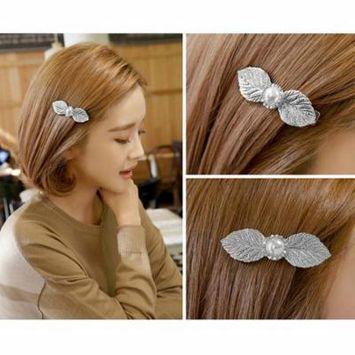Women Crystal Flower Rhinestone Hair Clip Headband Hairpin Clamps New Shining