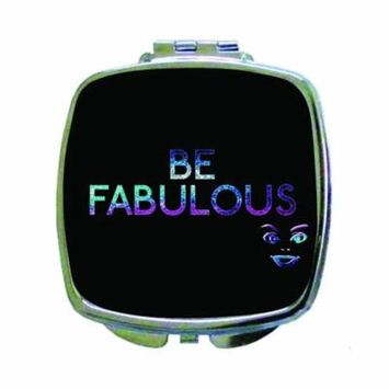 Be Fabulous - Compact Square Face/Makeup Mirror