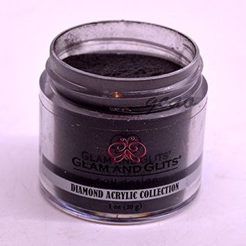 Glam Glits Acrylic Powder 1 oz Black Lace DAC79