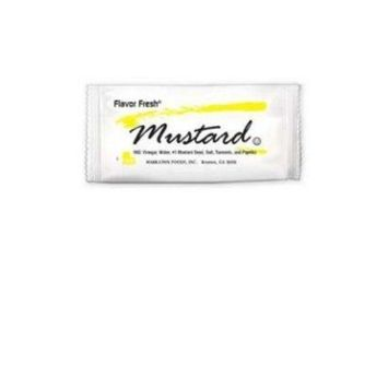 DIAMOND CRYSTAL BRANDS 72010 Flavor Fresh Mustard Packets, .317oz, 200/Carton