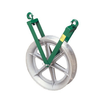 Greenlee Right-Angle Twin Yoke Sheaves - 17265 right angle twin y